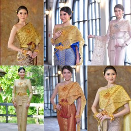 Thai wedding dress collections 2020